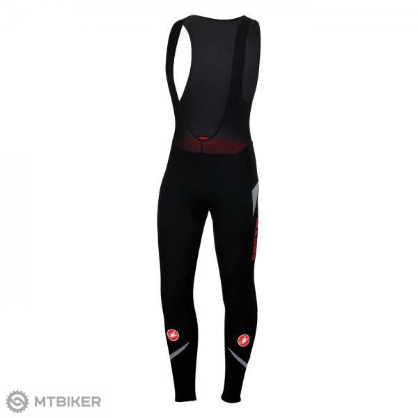 9e14ec1c9 Castelli POLARE 2 nohavice na traky, čierna/červená - MTBIKER Shop