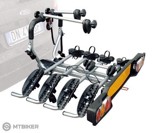 Peruzzo SIENA nosič Fe na ťažné zariadenie pre 4 bicykle