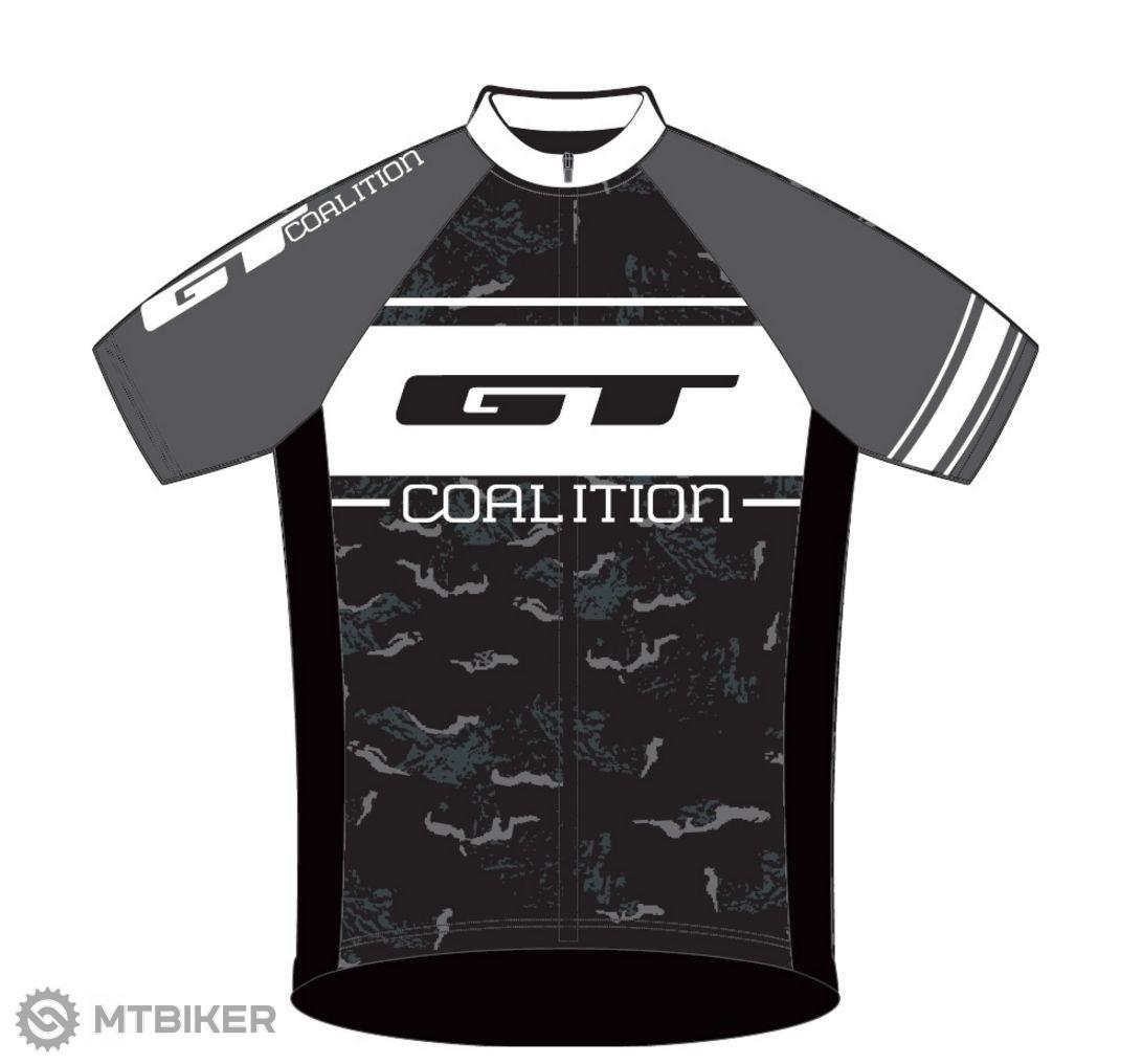 GT Race dres krátky rukáv grey/white 2016