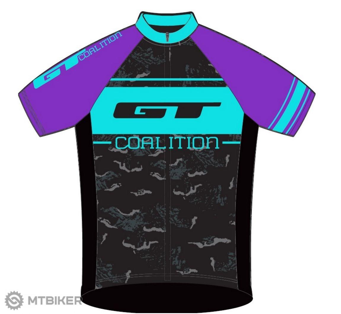 GT Race dres dámsky purple/blue 2016