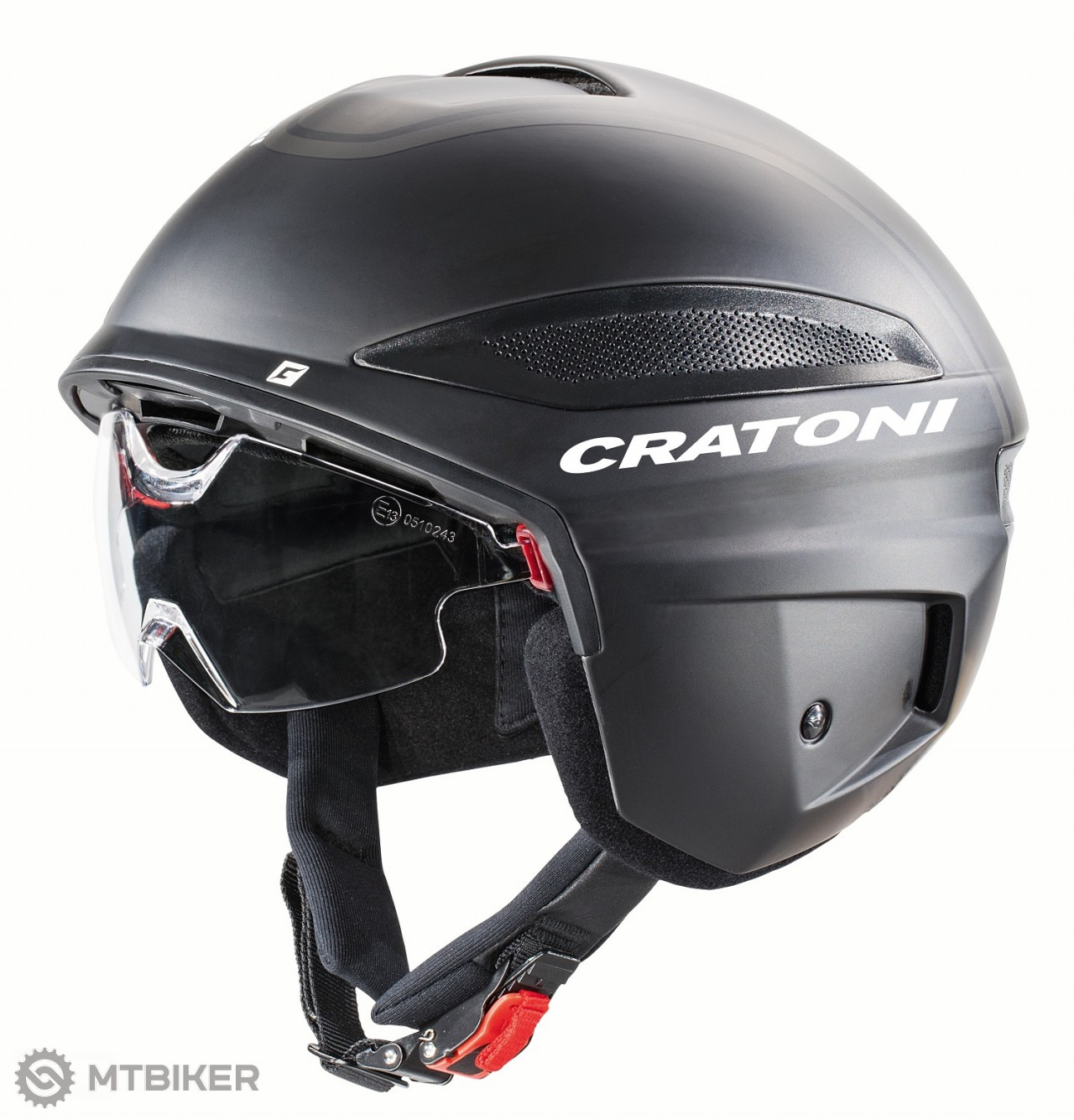 Cratoni VIGOR - black-black matt, e-bike/moto, model 2021
