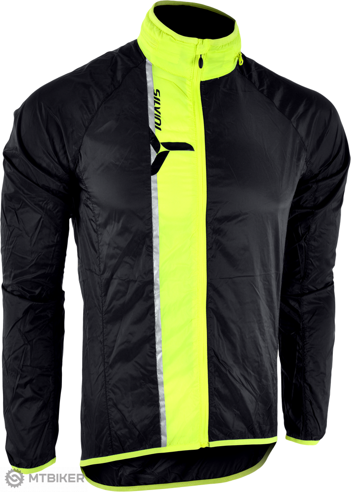 Silvini Gela pánská bunda čierna/neon