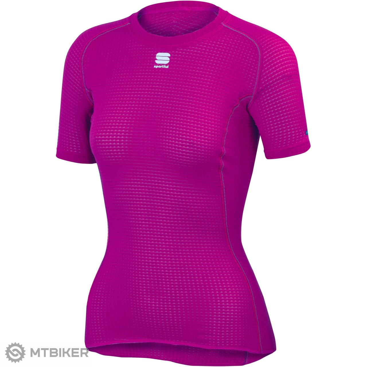 55481e139 Sportful Bodyfit Pro dámske funkčné tričko KR slivková - MTBIKER Shop