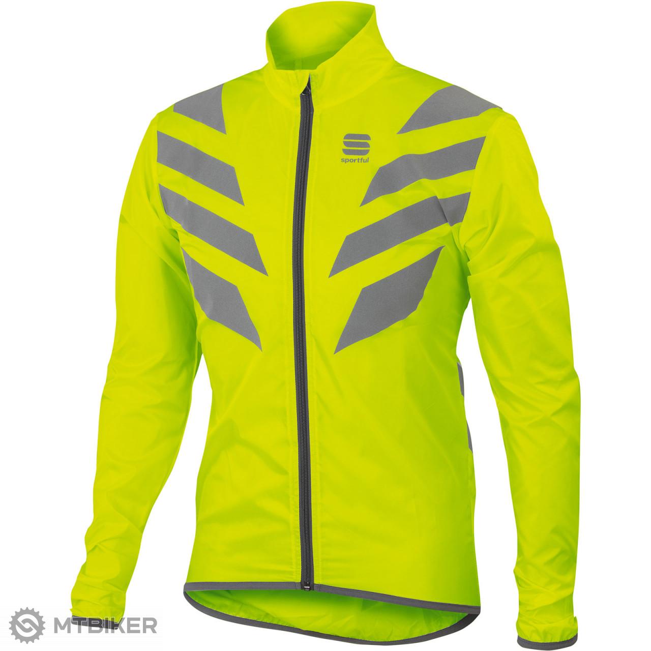 098c667b53a0a Sportful Reflex bunda fluo žltá - MTBIKER Shop
