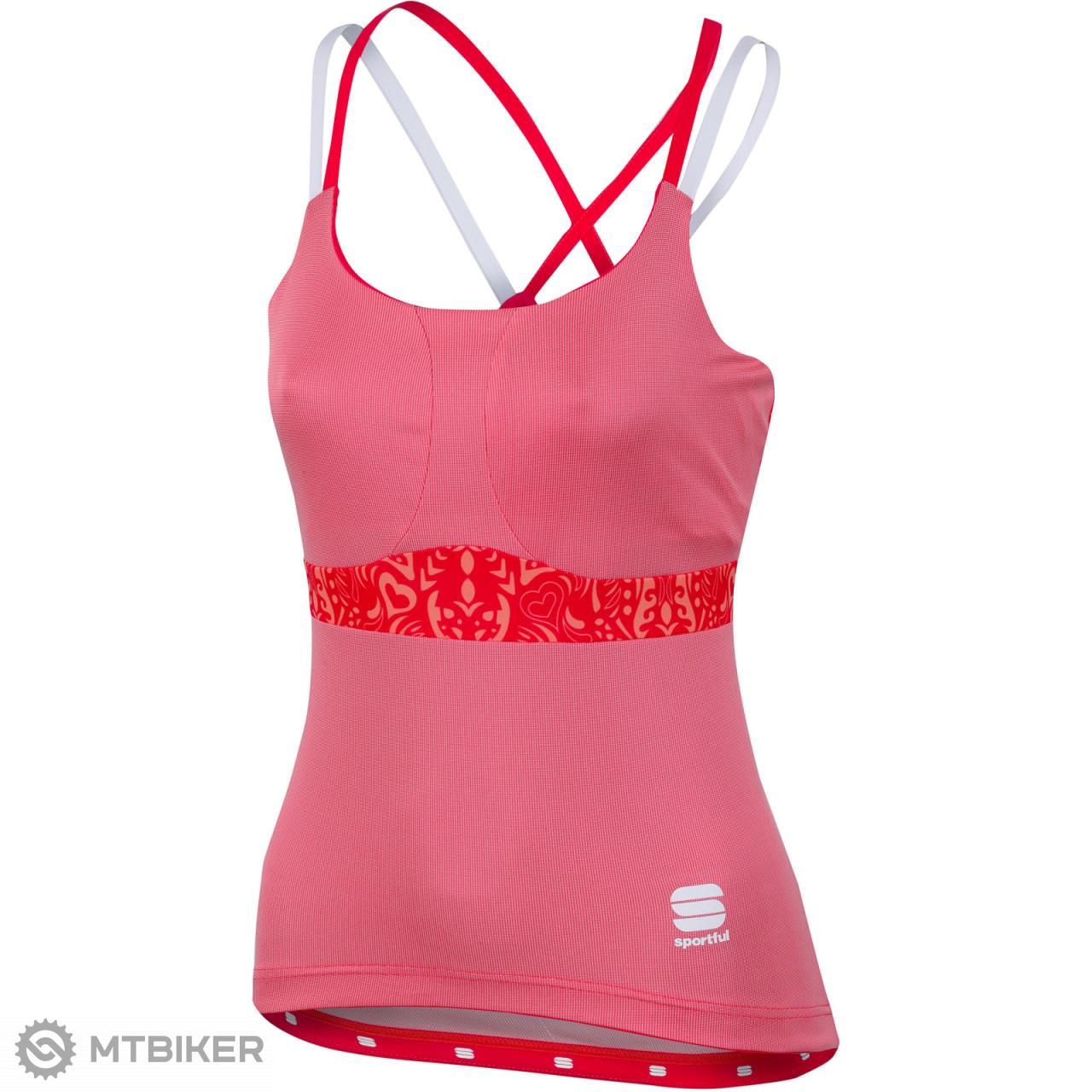Sportful Primavera dámske tielko ružové