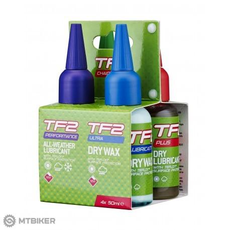 Weldtite TF2 Kombinovaná sada mazacích olejov na reťaz 4 x 50 ml