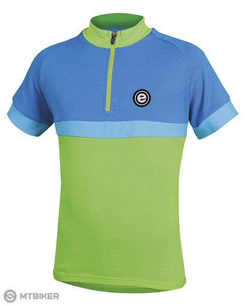 Etape Bambino detský dres zelená/modrá