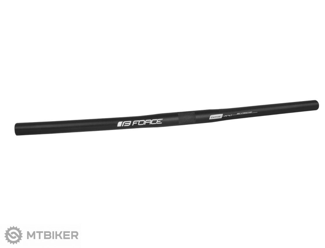Force riadítka MTB rovné 25,4/600 čierna mat
