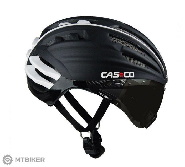 7c000af26 Casco SPEEDAiro prilba čierna (sivé okuliare) - MTBIKER Shop