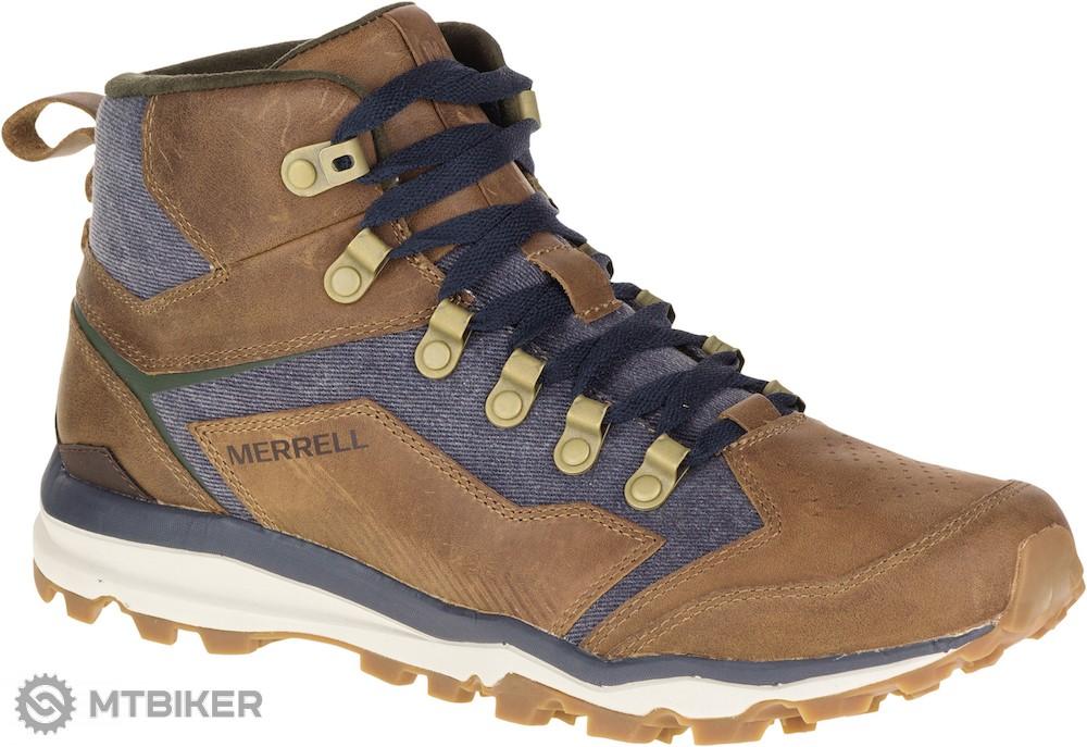 Merrell J49319 ALL OUT CRUSHER MID pánske multi-športové topánky ... ced1626580d