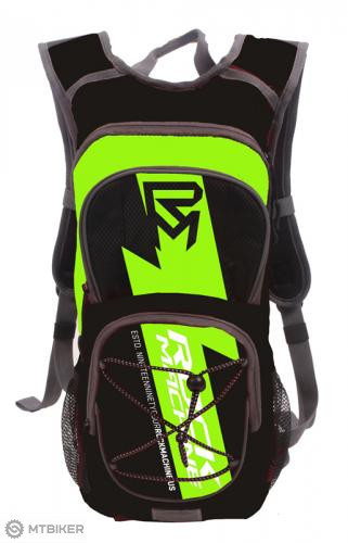 Rock machine ruksak RM s vakom na vodu - čierno-zelený 9fd5fa4942