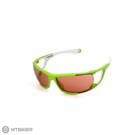 Altitude Ultimate zelené biele okuliare - MTBIKER Shop f3b9606cd66