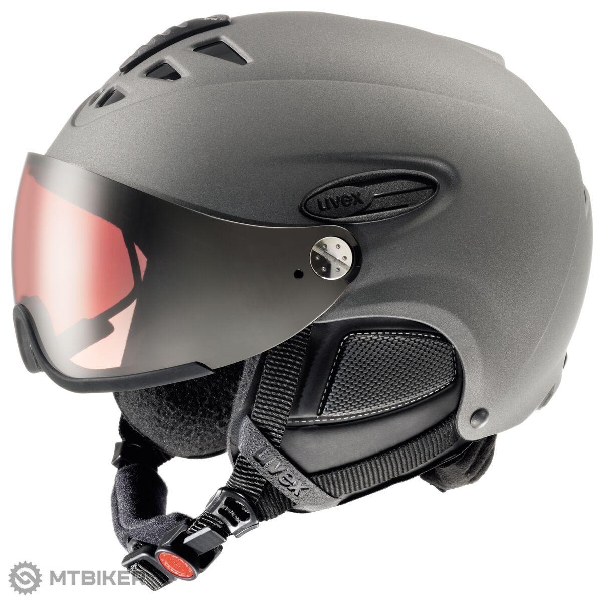 Uvex HLMT 300 POLA S566175500 lyžiarska helma uni - MTBIKER Shop b0680416dad