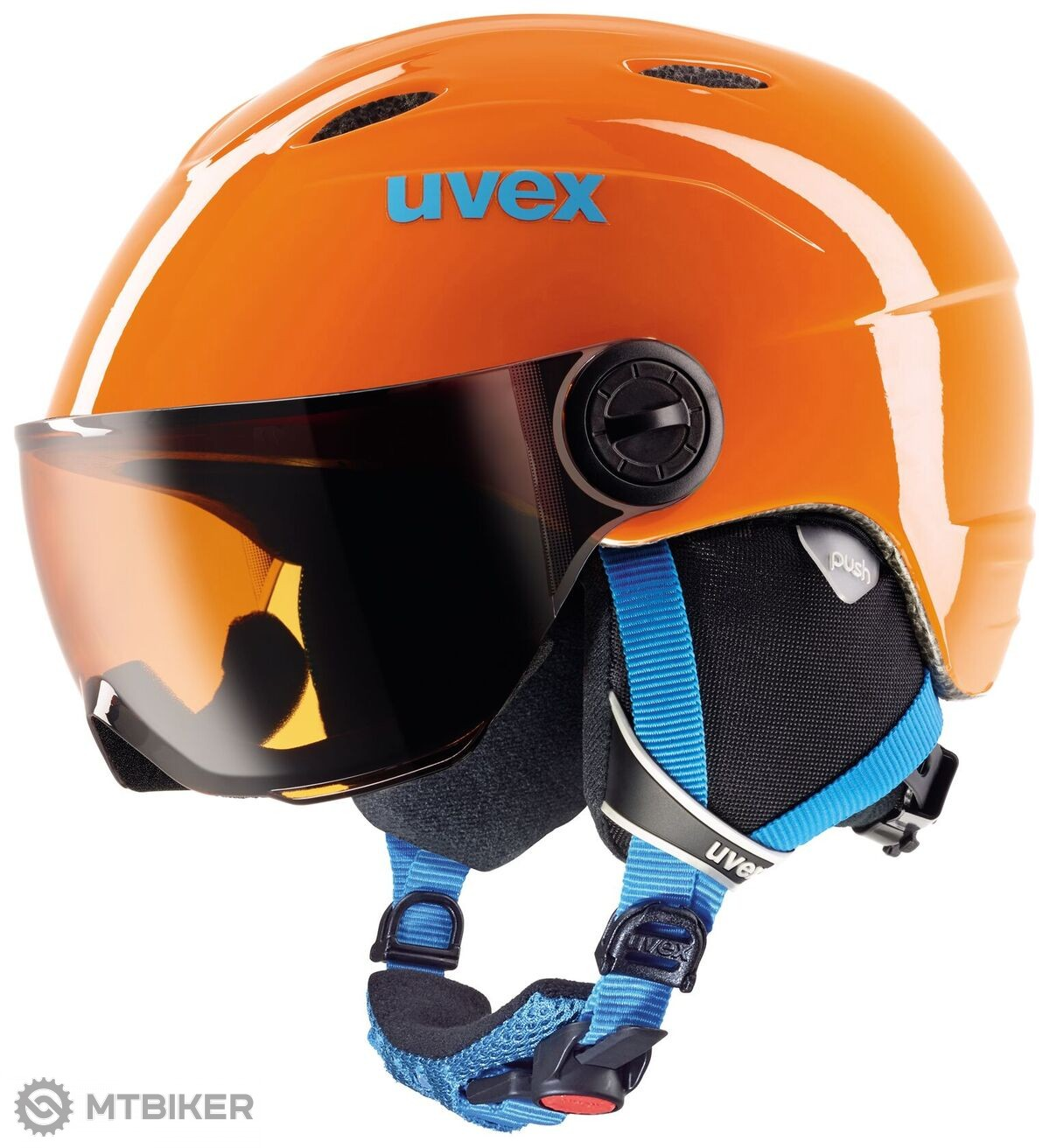 Uvex Junior Visor S566202800 detská lyžiarska helma - MTBIKER Shop 2e818207916