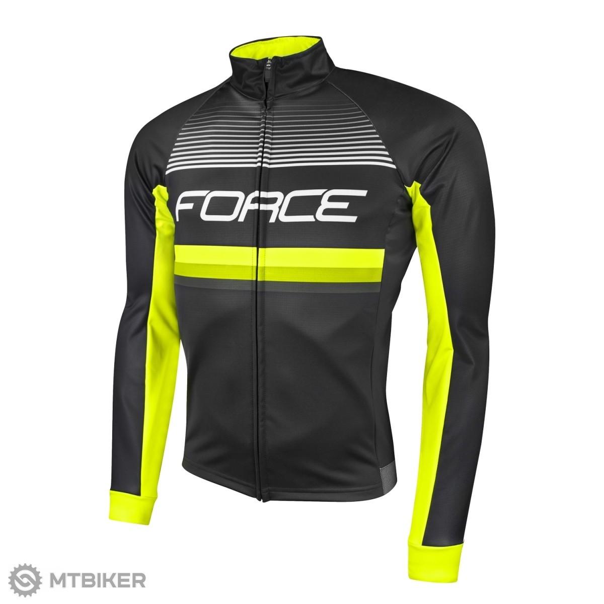 005c2af04 Force Drift Wind dres dl. rukáv čierna