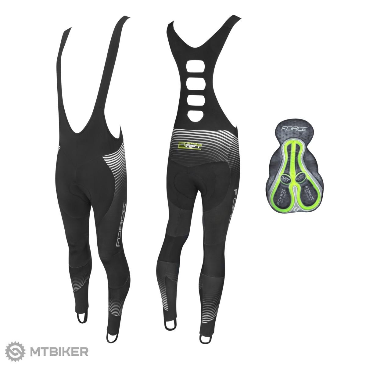 Force Drift Wind pánske nohavice s trakmi a vložkou