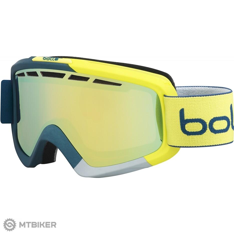 Bollé-Nova II Matte blue-yellow citrus lyžiarske okuliare - MTBIKER Shop 4741c66583c