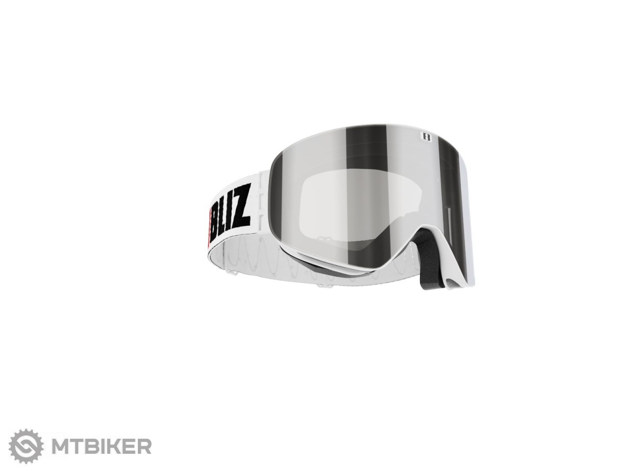 0f62a48b6 Bliz FLOW White brown, silver Mirror lyžiarske okuliare - MTBIKER Shop