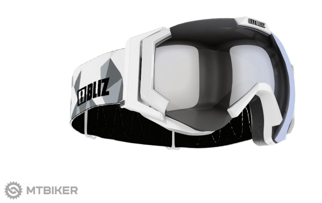 0317039fc Bliz Carver OTG Grey, Orange w Silver lyžiarske okuliare - MTBIKER Shop