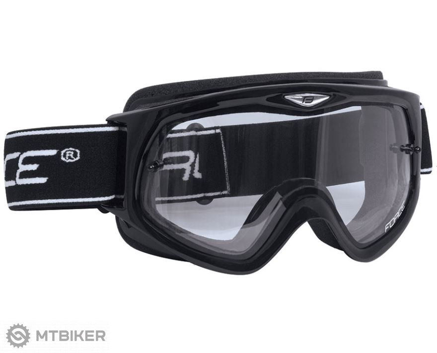 38cedcb77 Force zjazdové okuliare čierna - MTBIKER Shop