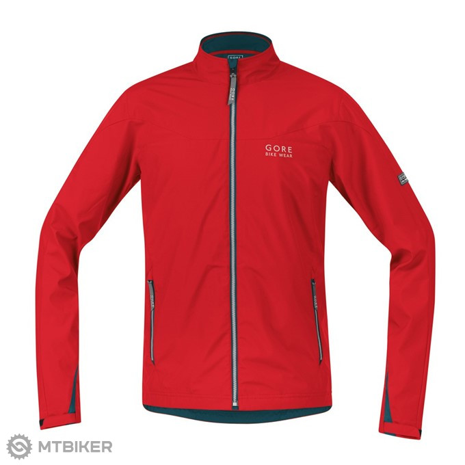 GORE Countdown AS 2in1 Jacket - red/petrol blue
