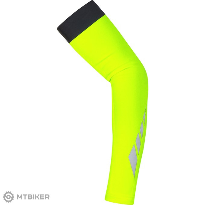 GORE Visibility Thermo Arm Warmers - neon yellow