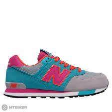 New Balance KL574WTG detské lifestylové topánky tyrkysovo-fuchsiová ... 457969b641b