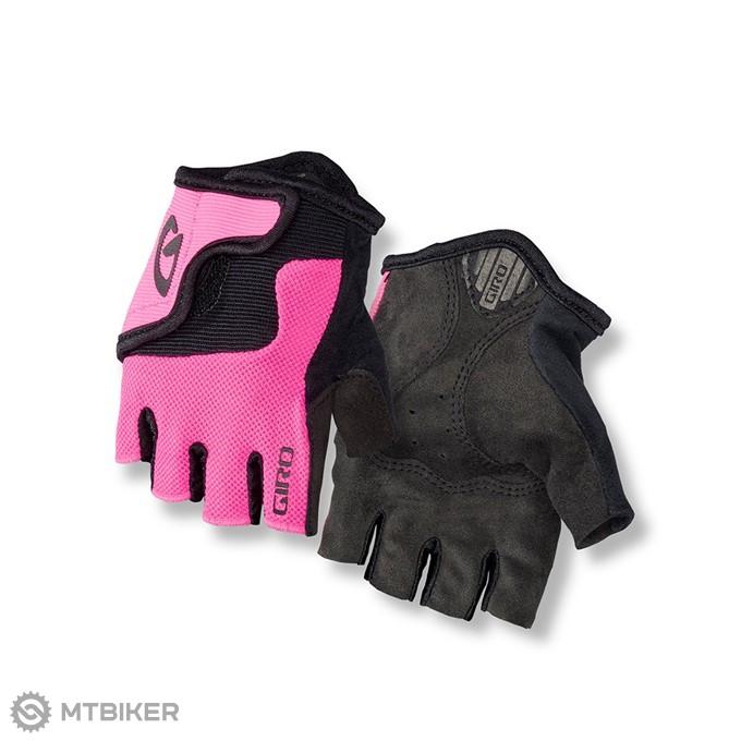GIRO detské rukavice Bravo JR - bright pink