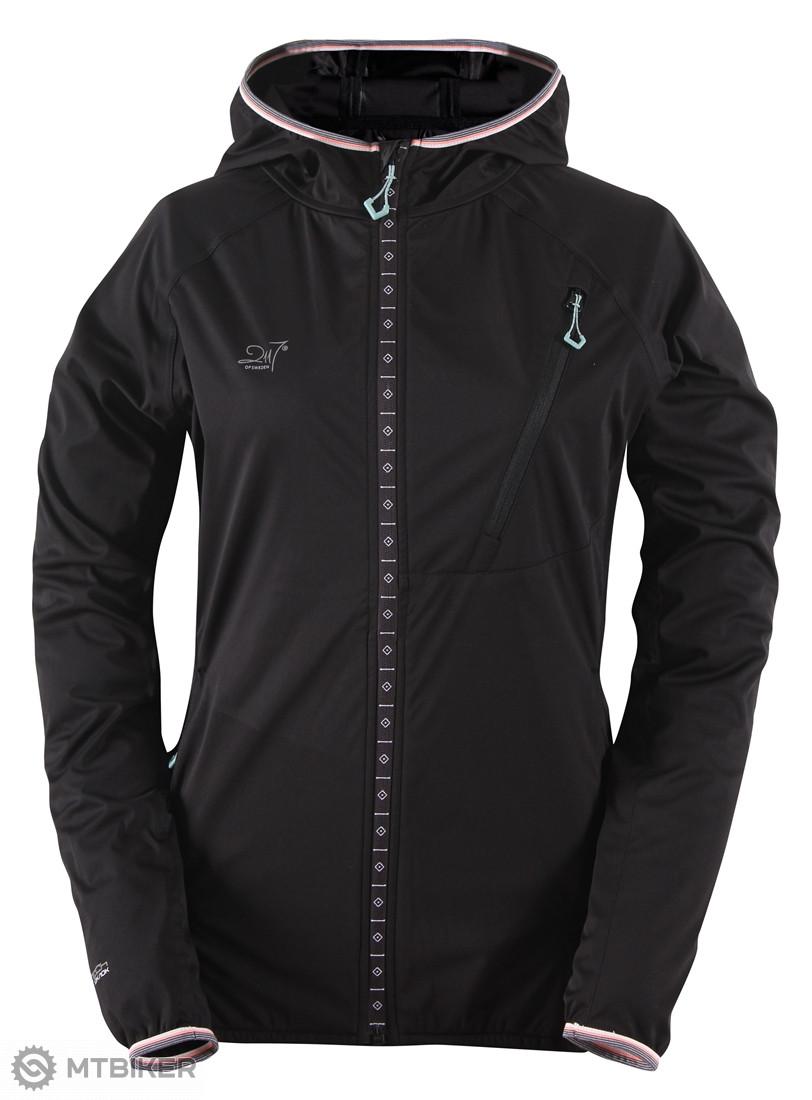 c6b65182d2d2 2117 of Sweden MEDELPLANA dámska ultraľahká softshellová bunda s kapucňou  čierna