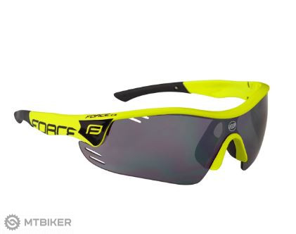 1d104ad43 Force Race Pro cyklistické okuliare fluo - MTBIKER Shop