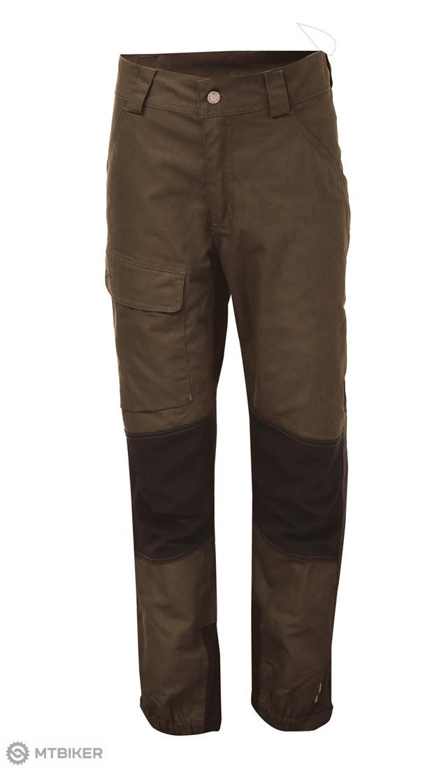 1a7448dd63c4 2117 of Sweden ASARP pánske outdoorové nohavice z bavlny hnedé ...