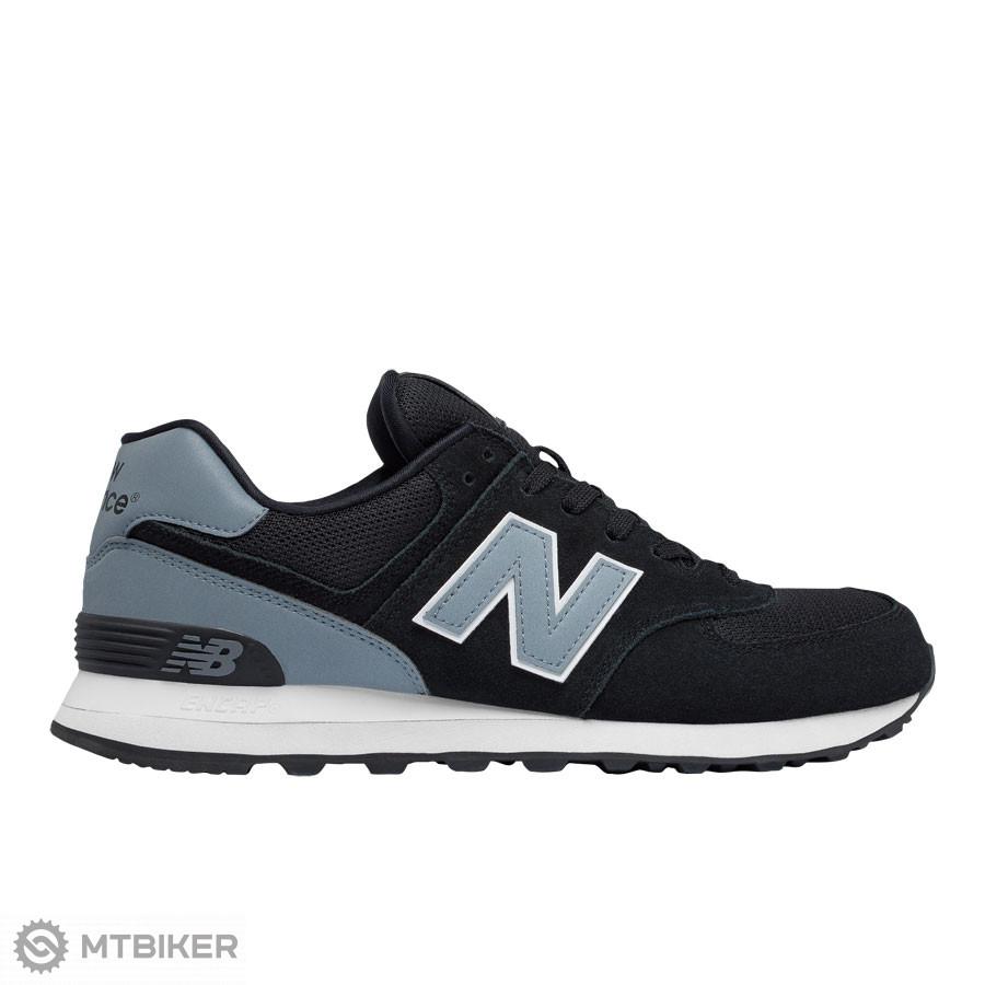 0ae7a5ff5a New Balance ML574CNA pánska lifestylová obuv čierna sivá - MTBIKER Shop