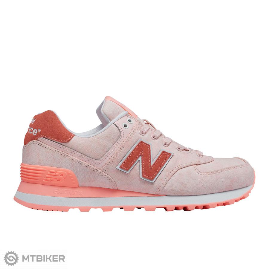 New Balance WL574SWA dámske lifestylové topánky svetlo oranžová ... 7e9ebd1685