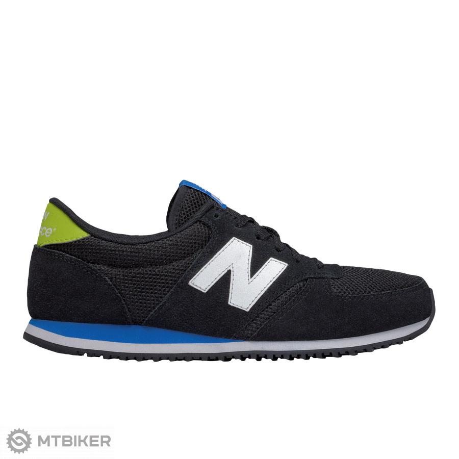 089898234e1 New Balance U420KSL pánske lifestylové topánky čierna modrá zeleno-žltá