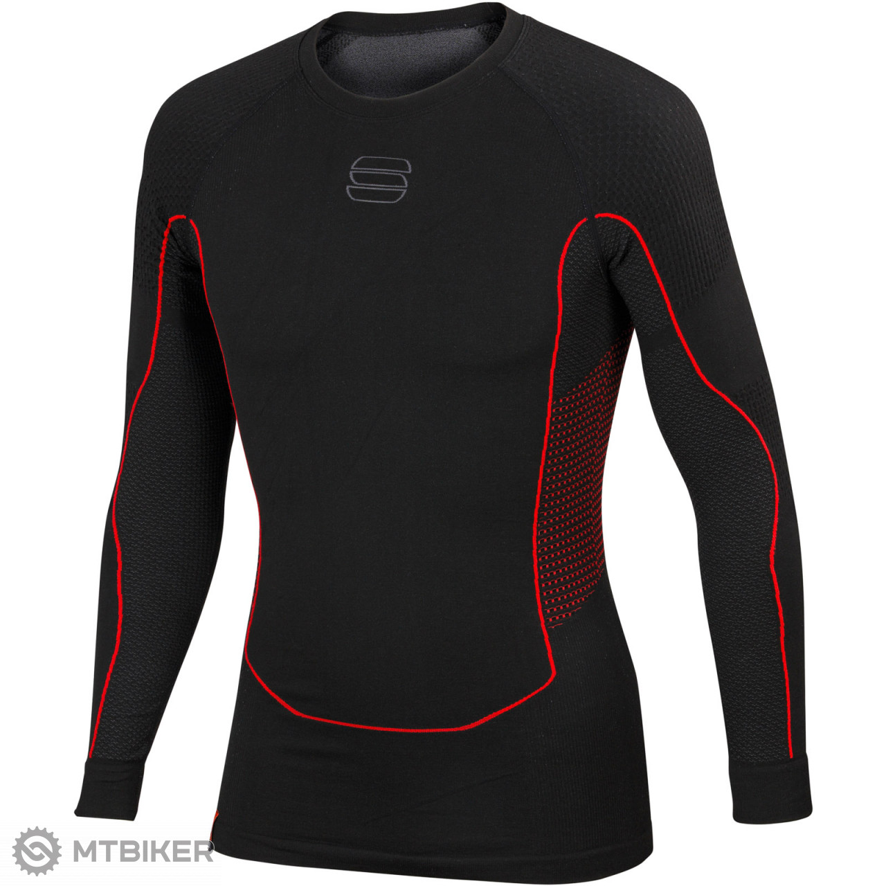 04d712a9cd0c Sportful 2nd Skin Tričko s dlhým rukávom čierne - MTBIKER Shop