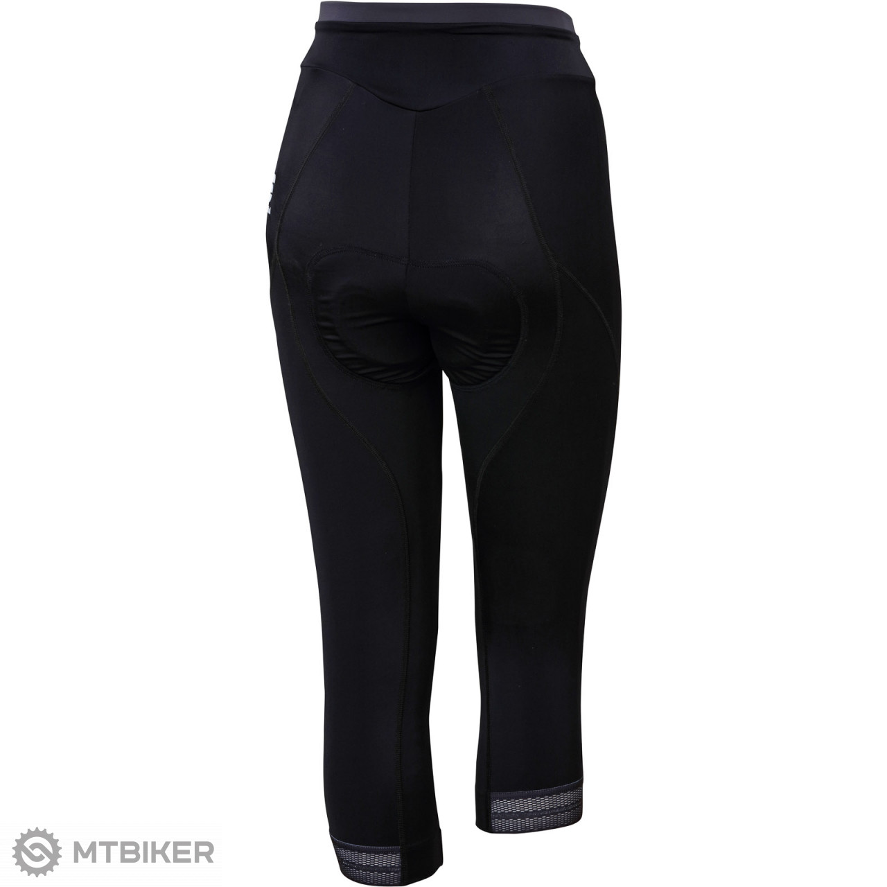 678e87d2a590 Sportful Giro dámske 3 4 nohavice čierne - MTBIKER Shop