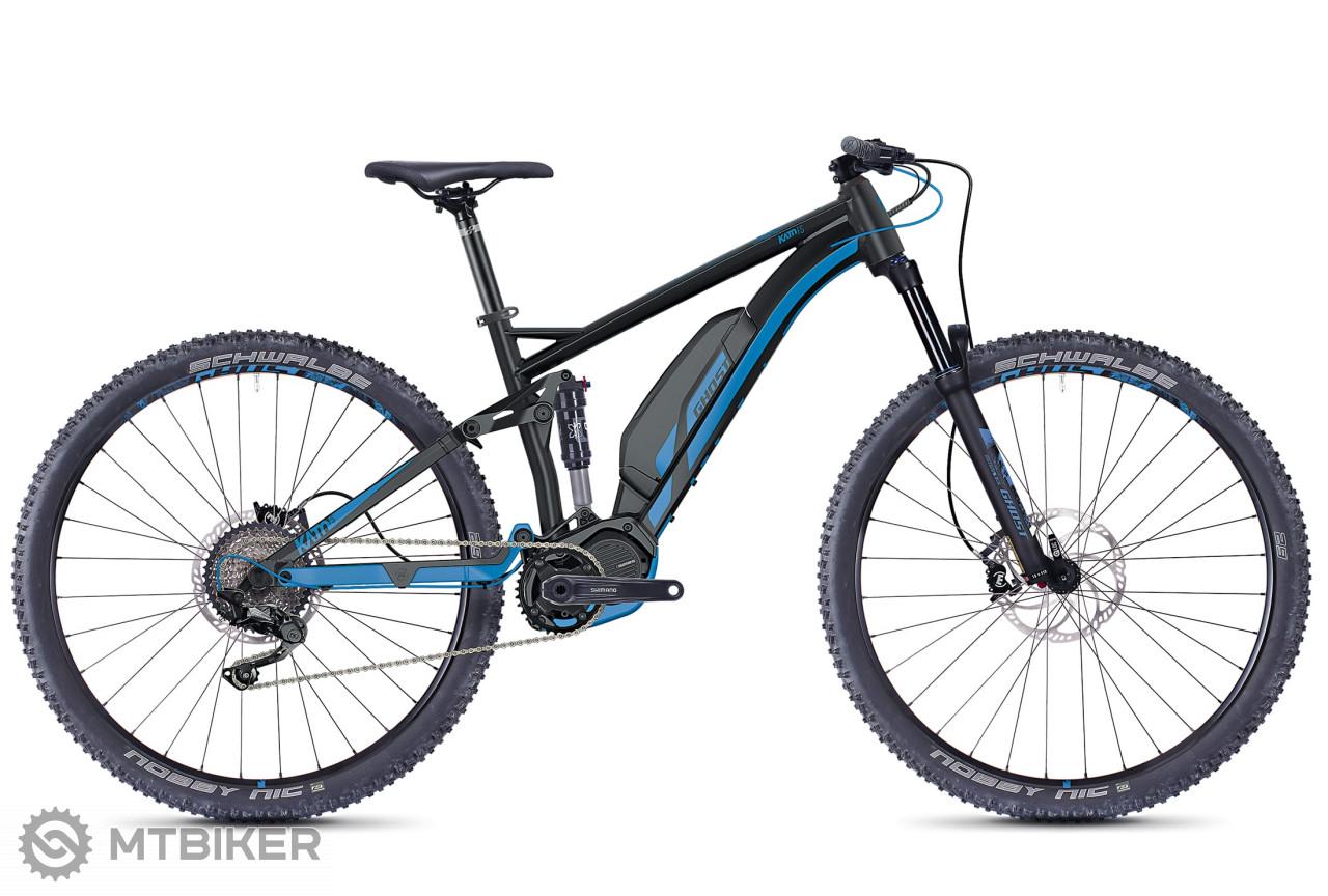 Ghost HYB Kato FS S3.9 čierny/modrý, model 2018