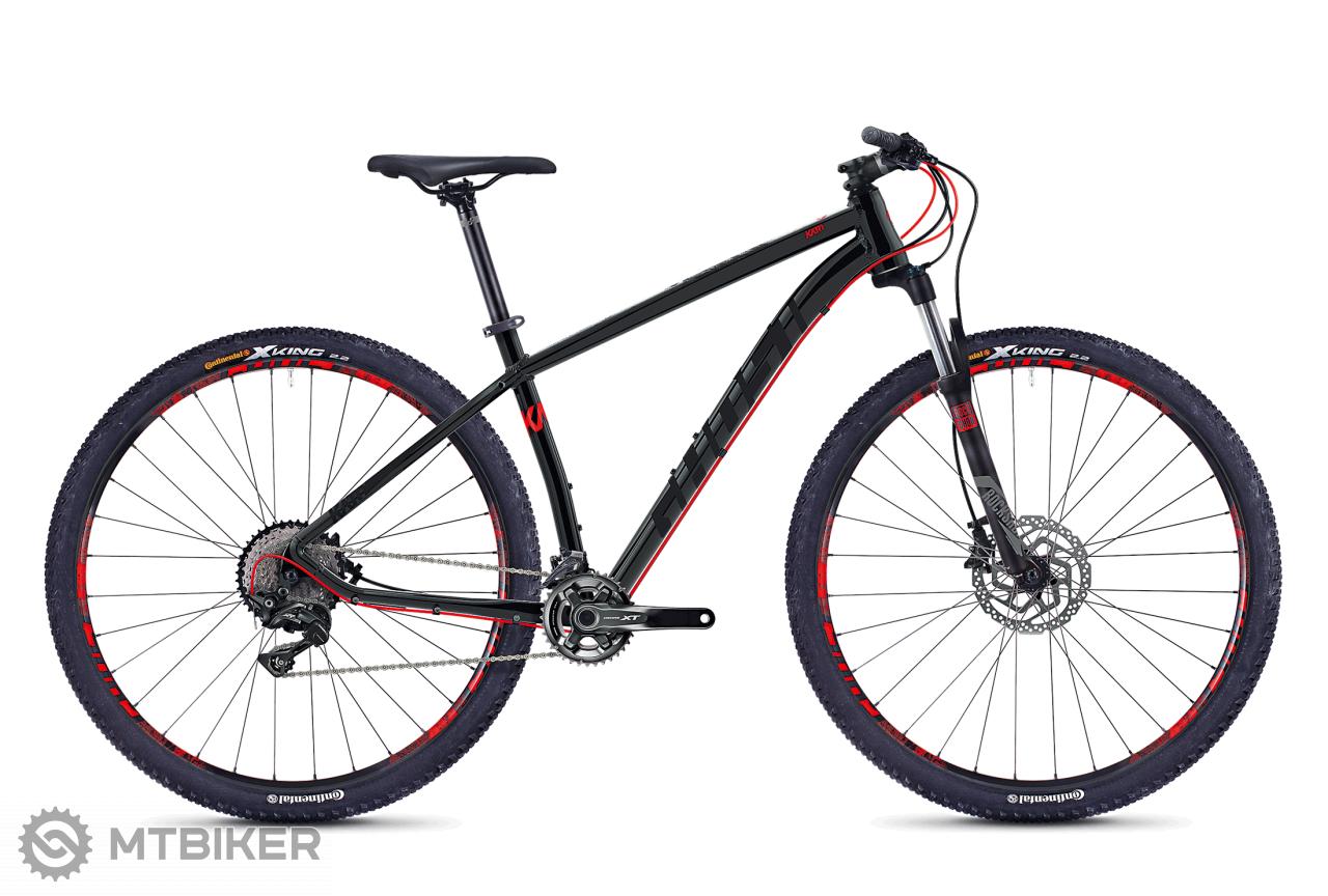 Ghost Kato 9.9 BLACK / RED, model 2018