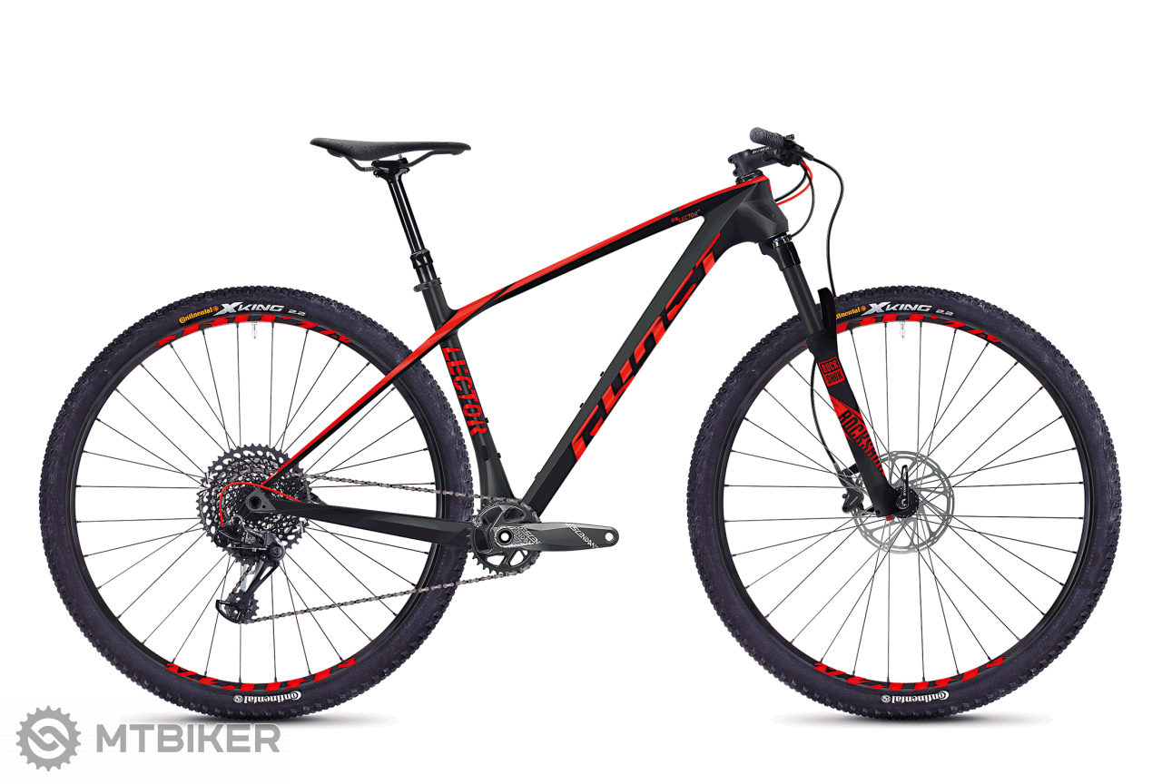 Ghost Lector 5.9 LC BLACK / RED, model 2018