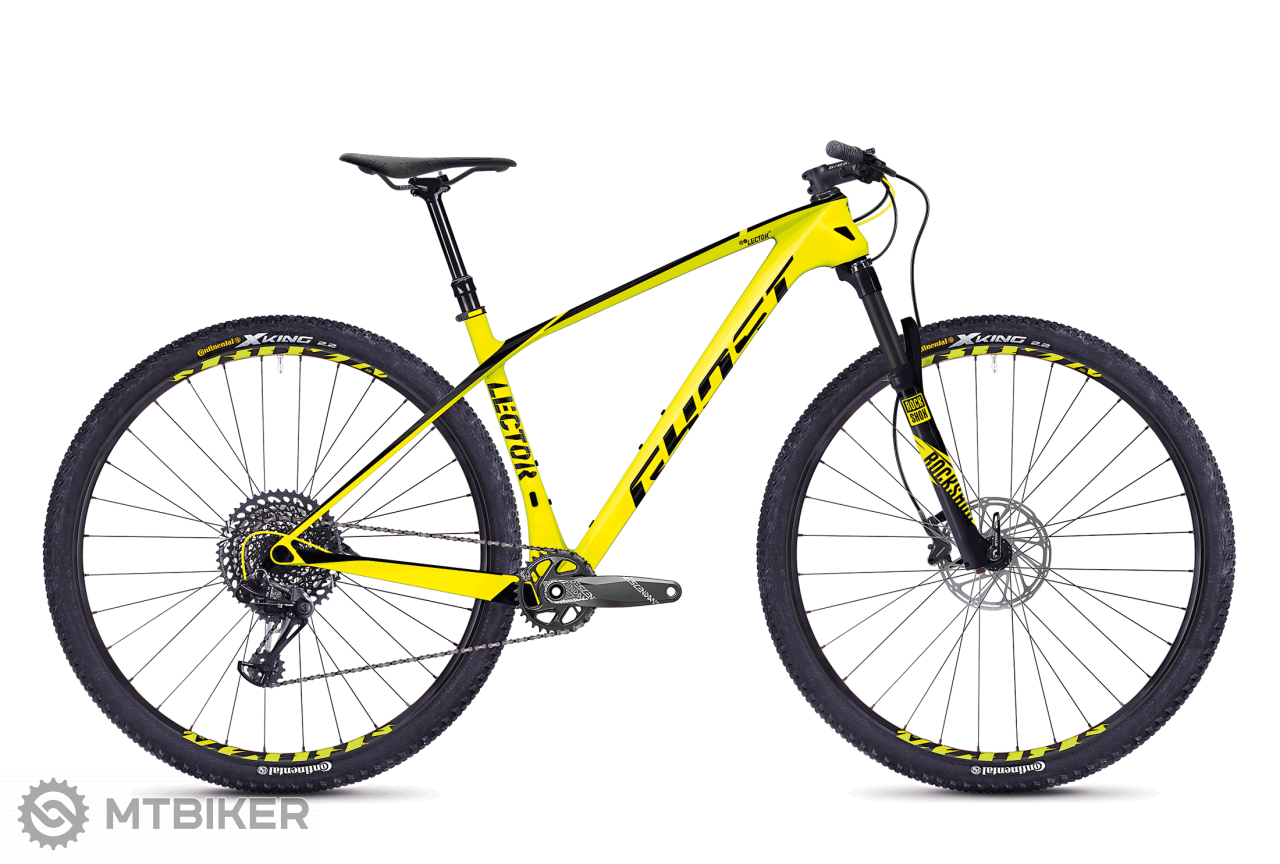 Ghost Lector 5.9 LC YELLOW / BLACK, model 2018