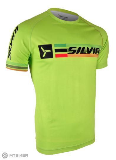 ac627ece813b Silvini Promo pánske tričko zelená - MTBIKER Shop