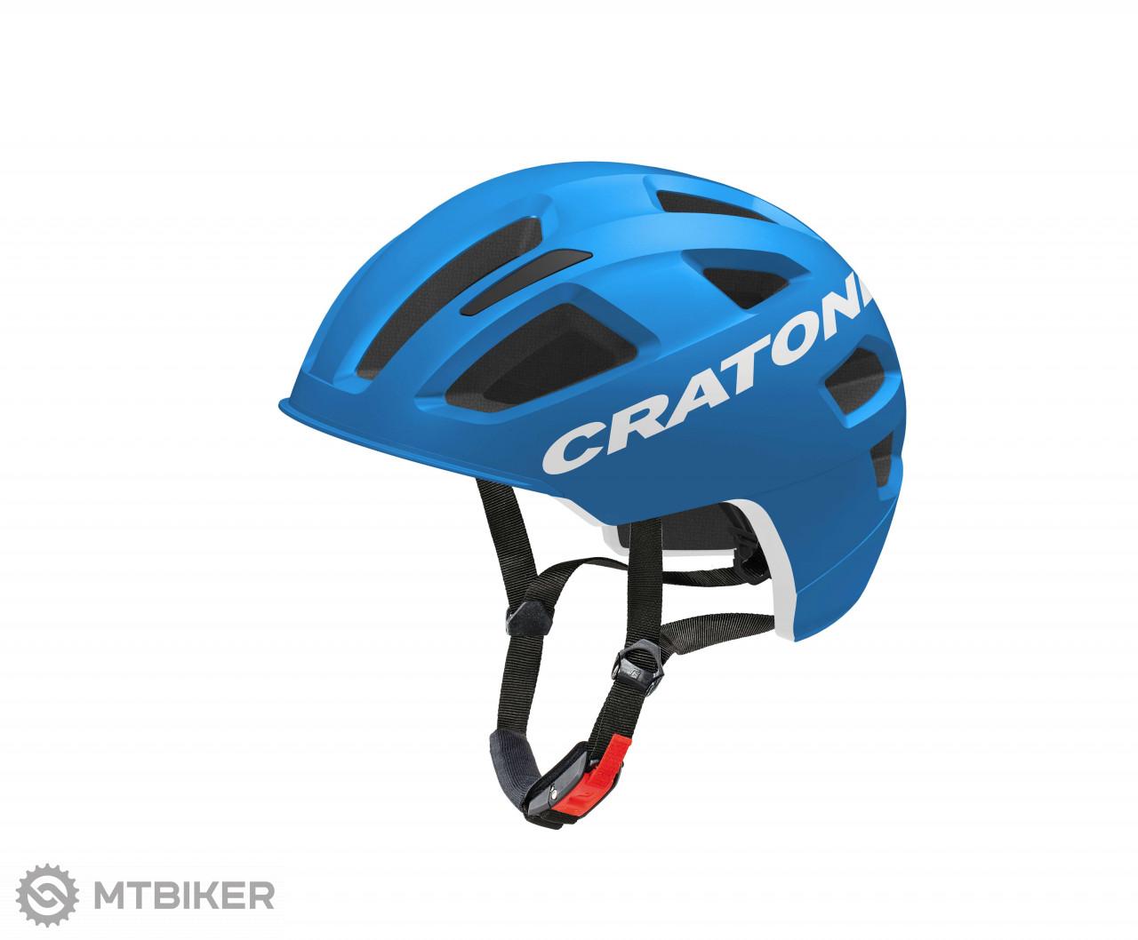Cratoni C-Pure blue matt, model 2019
