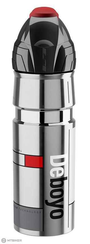 Elite fľaša DEBOYO 500 ml 12 h nerez/vacuum strieborná