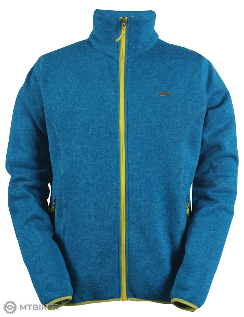 4d6dd37b1fc9 2117 of Sweden pánsky sveter so zipsom TOBO tyrkysová - MTBIKER Shop