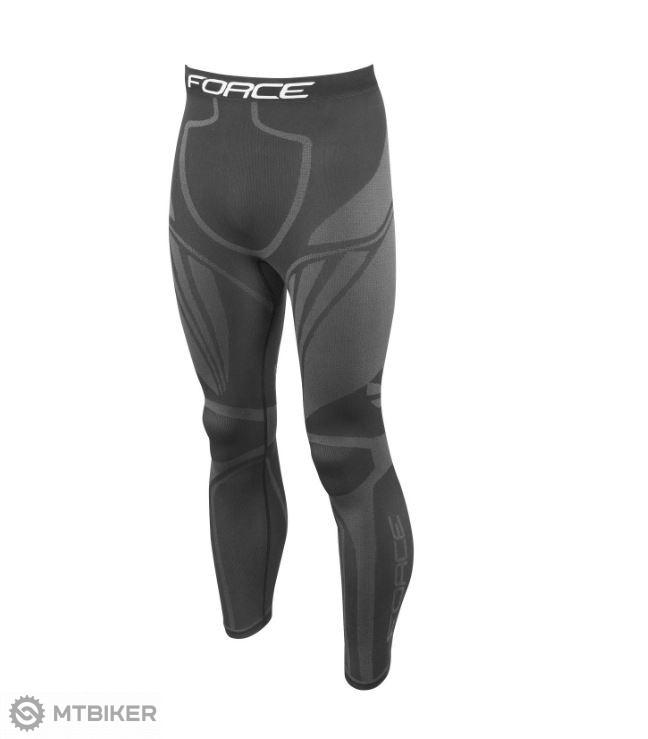 349b9a0ecd0c Force nohavice funkčné prádlo FROST čierne - MTBIKER Shop