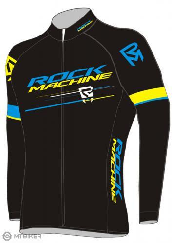 Rock machine cyklistický dres RM RACE man dlhý rukáv