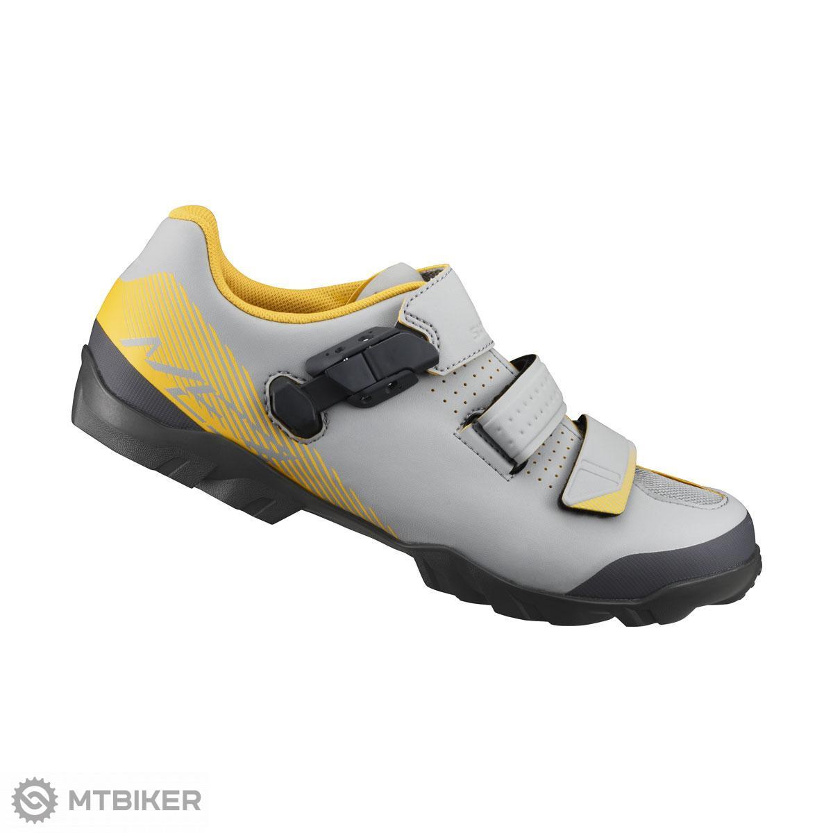 Shimano tretry SHME300 sivo-žlté