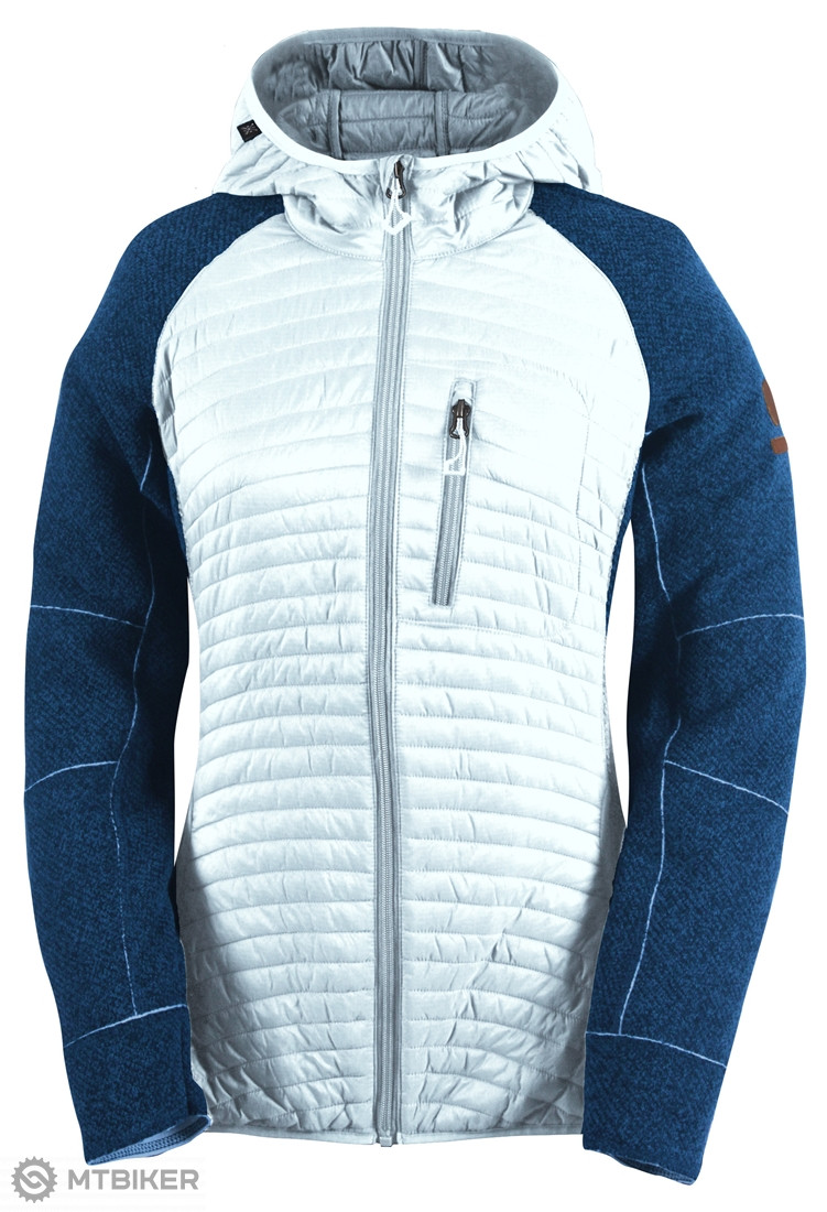 2117 of Sweden Sone dámska hybridná bunda modrá biela - MTBIKER Shop 84fc64af1d0
