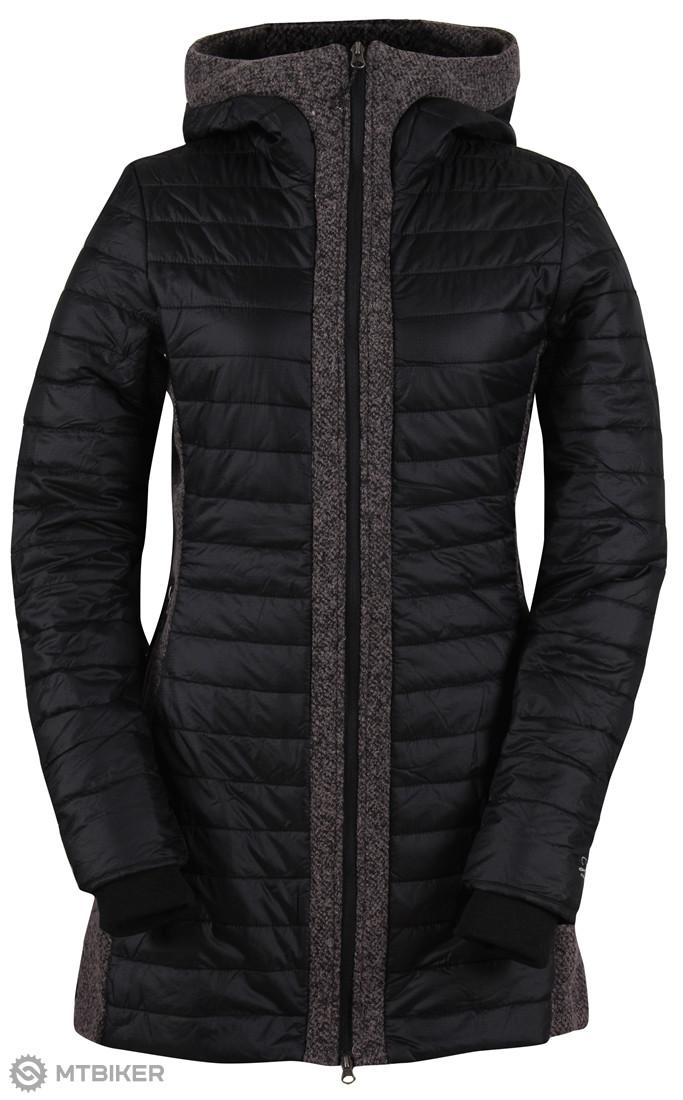 2117 of Sweden KATTHULT dámsky športový kabát čierny - MTBIKER Shop 66c6a6058e2