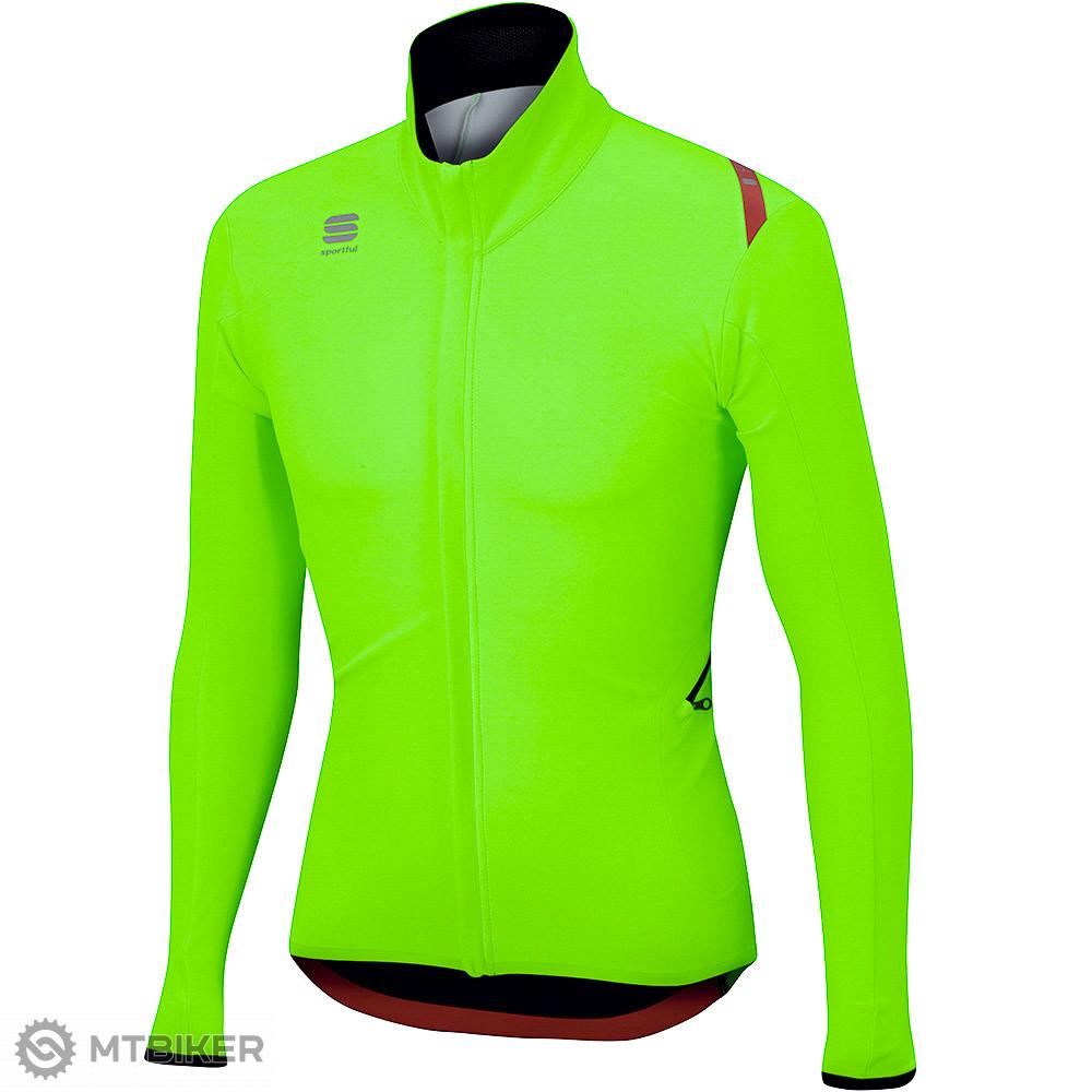 Sportful Fiandre Light Wind bunda fluo zelená